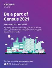 St Cuthbert (Out) PC supports the Census 2021 campaign!